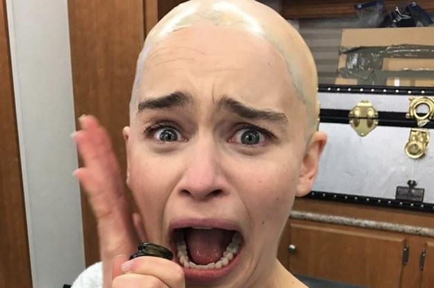 Emilia Clarke Just Made Bald A Lewk 👀