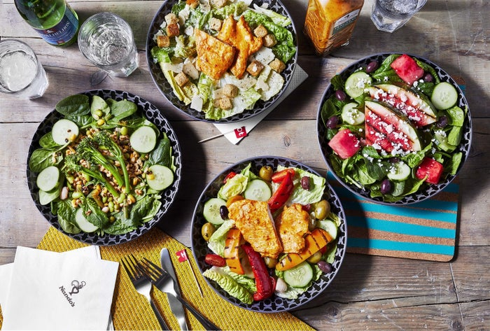 "The new additions, which include a watermelon and feta salad and long stem broccoli, are part of Nando's plan to add ""more colour"" and ""more balanced items"" to their menu – just in time for summer!"