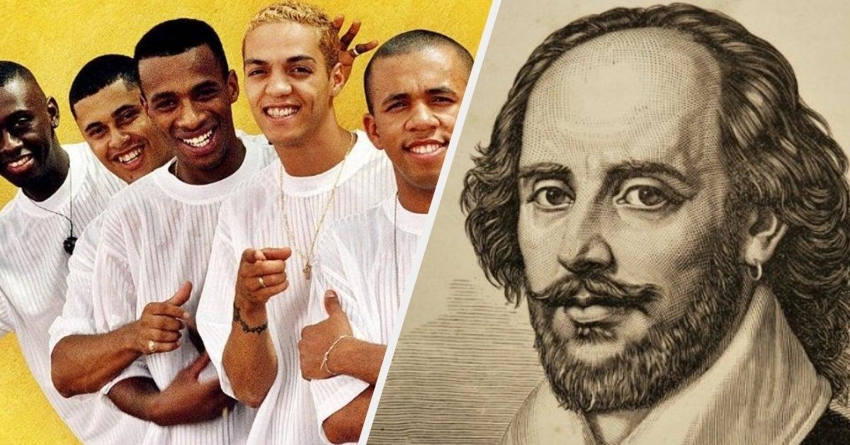 Quem disse isso: Grupo de pagode dos anos 90 ou Shakespeare?