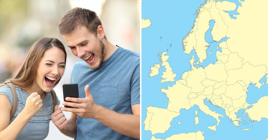 Wetten, du schaffst es nicht, alle 28 EU-Staaten auf einer Karte zu finden?