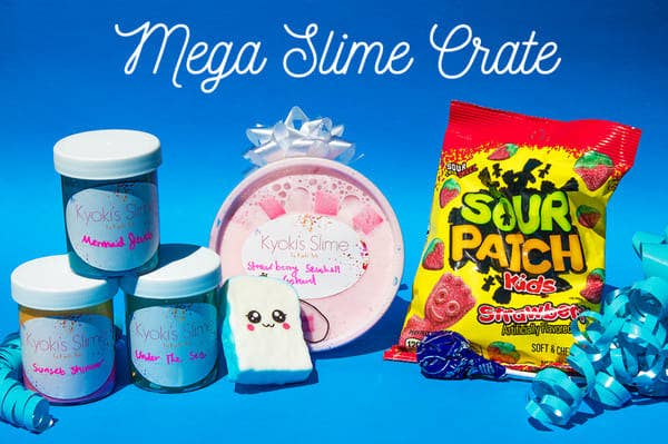 "What you get: a variety of different slimes based on the monthly theme, such as floam, cloud slime, and icee slime; plus extras like squishies and candy!Promising review: ""I am an older woman so I initially wanted to buy Kyoki slime for my grandchildren. When I opened the box I felt like a kid again and the slime is so wonderful for my arthritis in my hands. All of the little surprises in the box were so fun to receive, too! So, slime isn't just for kids. This stuff is fantastic for older folks, too. I recommend buying extra for yourself. Customer service was excellent as well, and the high quality of products can't be beat for the price."" —Julie FGet it from Cratejoy for $9.25+ per month (available in four sizes)."