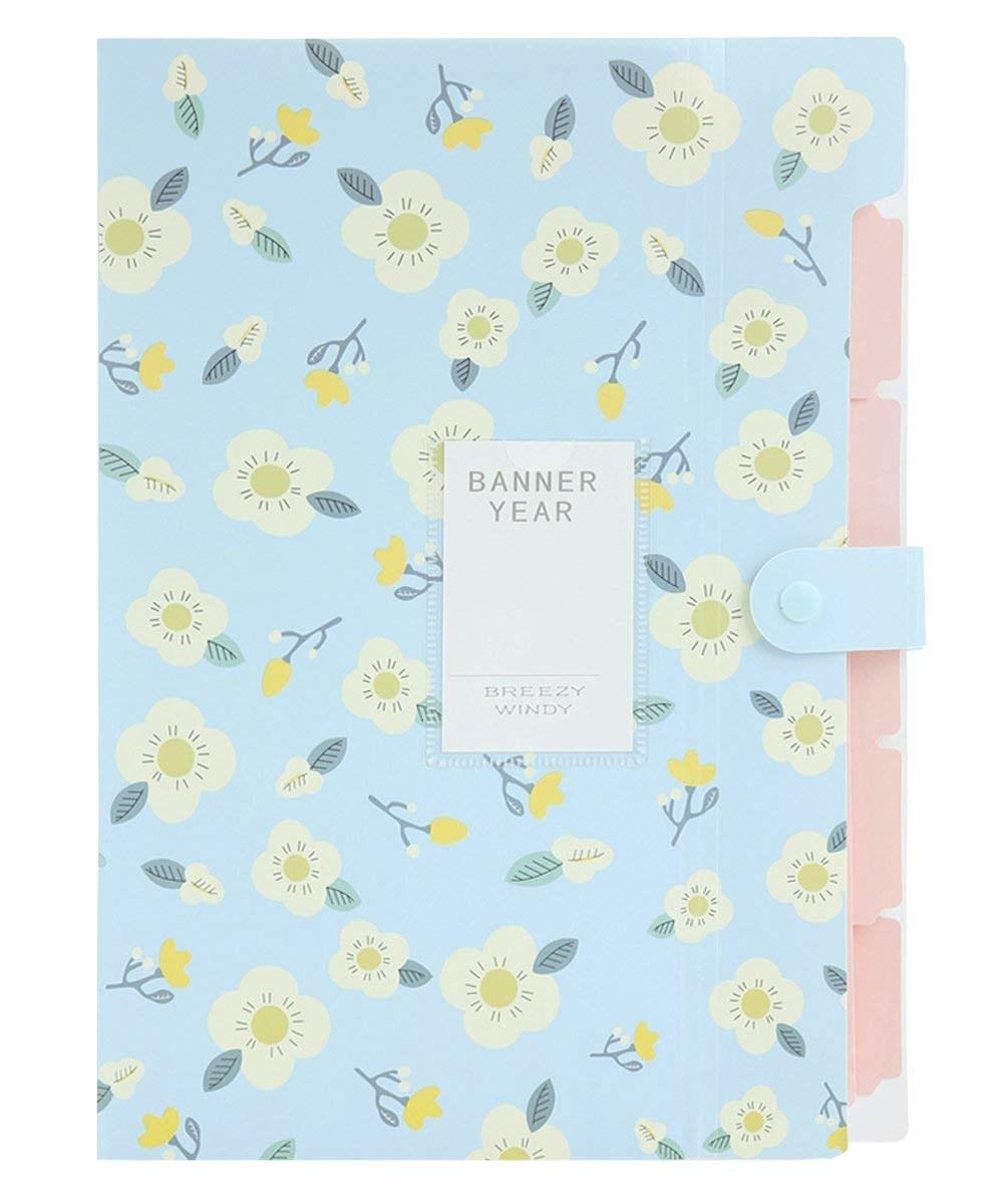floral print folder