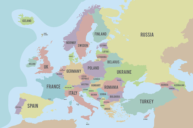 There Are 50 European Countries And I'll Be Impressed If You Know At Least 10 Capitals