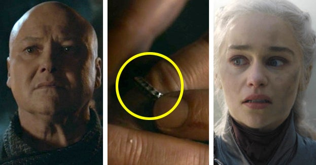 "This ""Game Of Thrones"" Theory Explains Why Varys Took Off His Rings And It's Bad News For Daenerys"