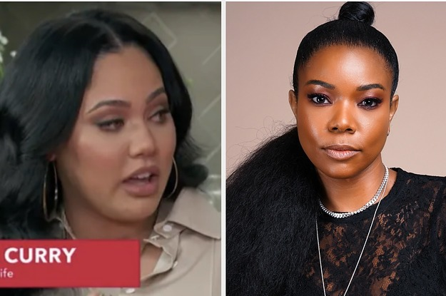 gabrielle union defends ayesha curry over  u0026quot male attention