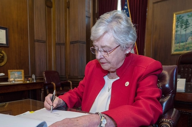 Alabama's Governor Has Signed The Nation's Strictest Abortion Law