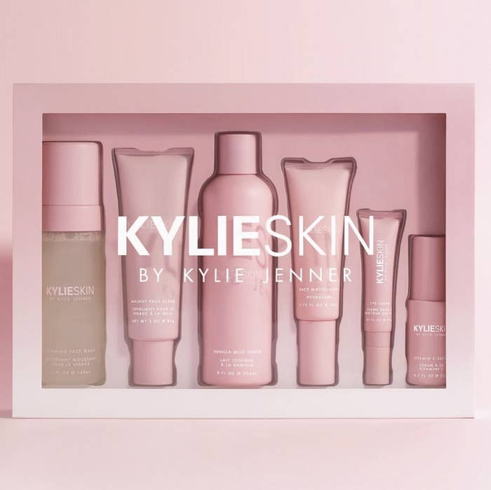 As well as the six main products, Kylie Skin will also be selling travel bags for $22 and makeup removing wipes for $10.