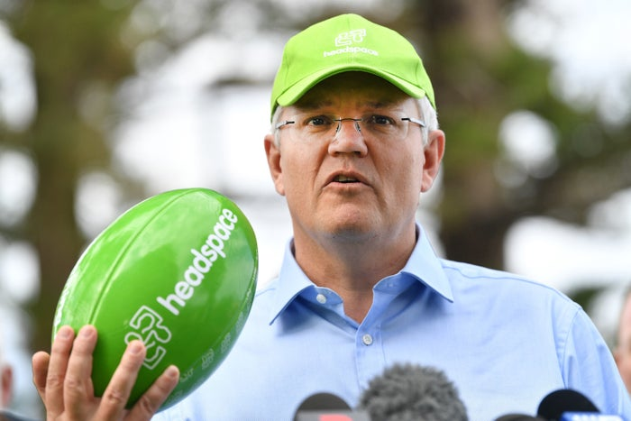Scott Morrison announces new funding for headspace in Adelaide in Oct. 2018.