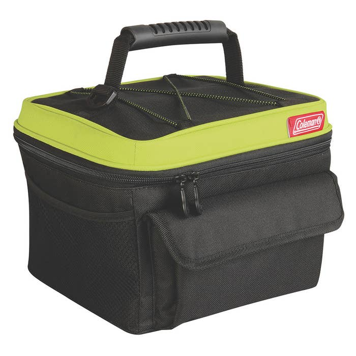 """Promising review: """"I have been using the product everyday carrying my lunch to work. It's roomy and sturdy.""""—Guitar LoverPrice: $16.19+ (available in green, blue, and red)"""