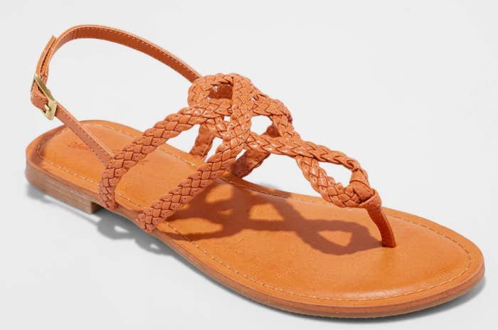 0f37866175 A braided strappy sandal that you might wind up wearing every damn day, and  we definitely wouldn't judge you for it.