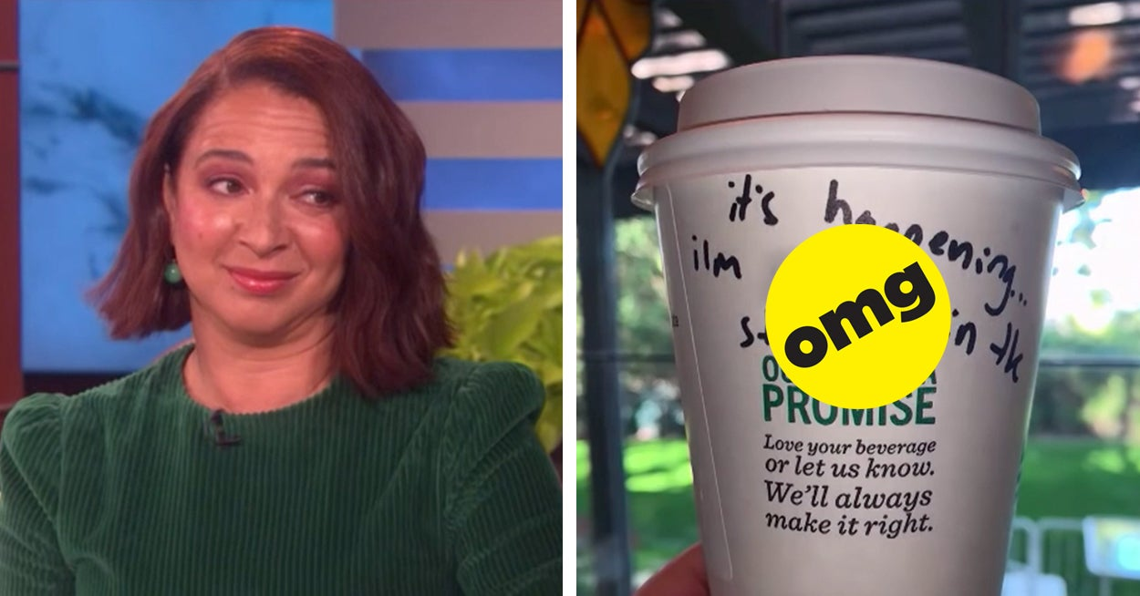 """A Starbucks Barista Left A """"Bridesmaids"""" Joke On Maya Rudolph's Cup And I Can't Stop Screaming"""