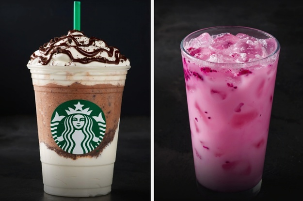 How Many Of These Starbucks Drinks Have You Tried