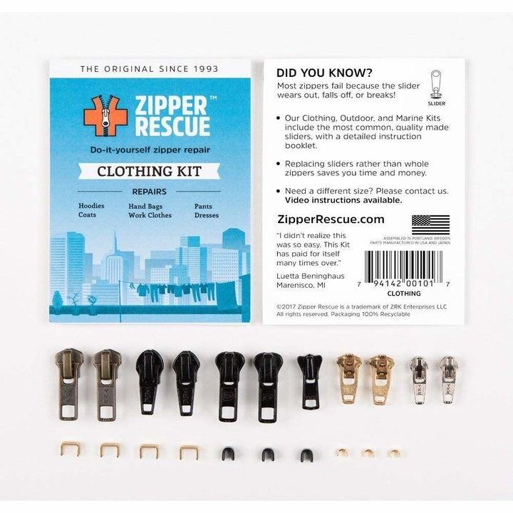 The zipper repair kit