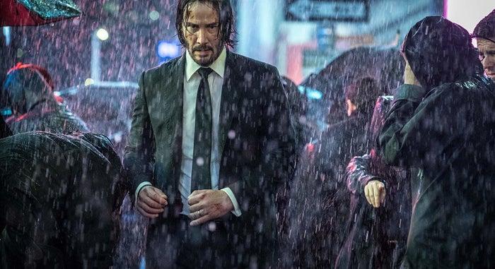Keanu Reeves in John Wick: Chapter 3 — Parabellum.