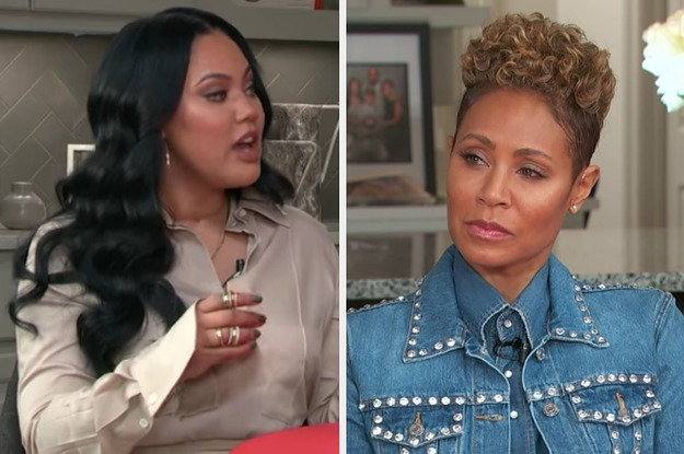 """Jada Pinkett Smith Addressed Ayesha Curry's Comments About """"Male Attention"""" On """"Red Table Talk"""""""