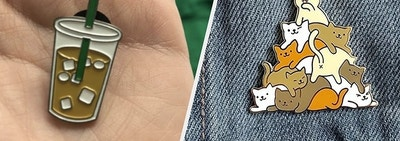 36 Enamel Pins That Want To Make Your Jacket Their Home