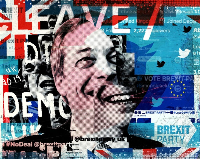 Nigel Farage's Brexit Party Is Getting Huge Buzz On Twitter. Some Of It Doesn't Seem Real.