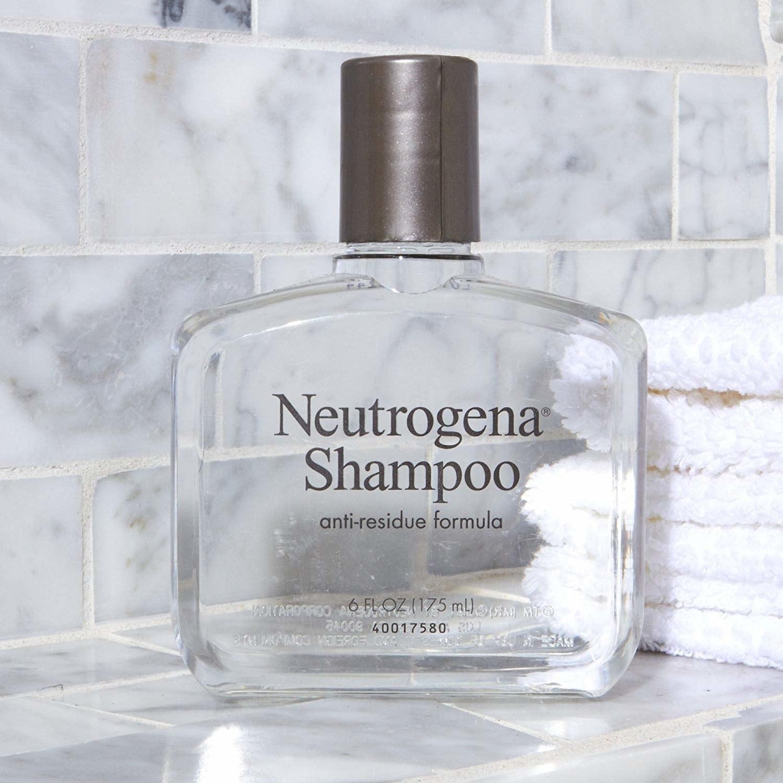 bottle of Neutrogena anti-residue formula