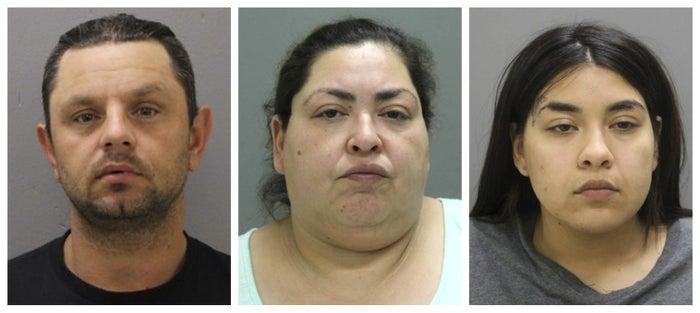 From left: Peter Bobak, 40; Clarisa Figueroa, 46; and Desiree Figueroa, 24.