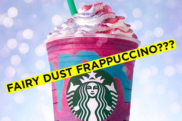 Are These Names Of Real Starbucks Drinks Or Are They Fake