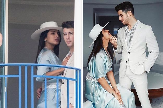 These Pics Of Nick Jonas And Priyanka Chopra Having Their Photo Taken Is Literally Real Life Vs. Instagram