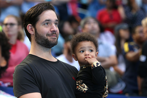 Serena Williams' Husband Wants To Get Better At Doing His Daughter's Hair But His Approach Divided Opinion