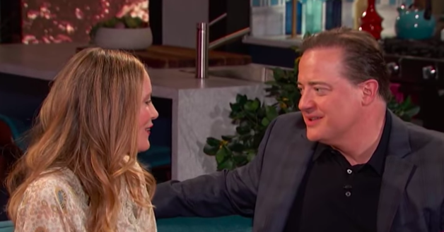 """Brendan Fraser And Leslie Mann Had A """"George Of The Jungle"""" Reunion And It's Giving Me Life"""