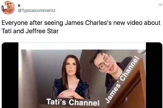 17 New Reactions To The James Charles, Tati ...