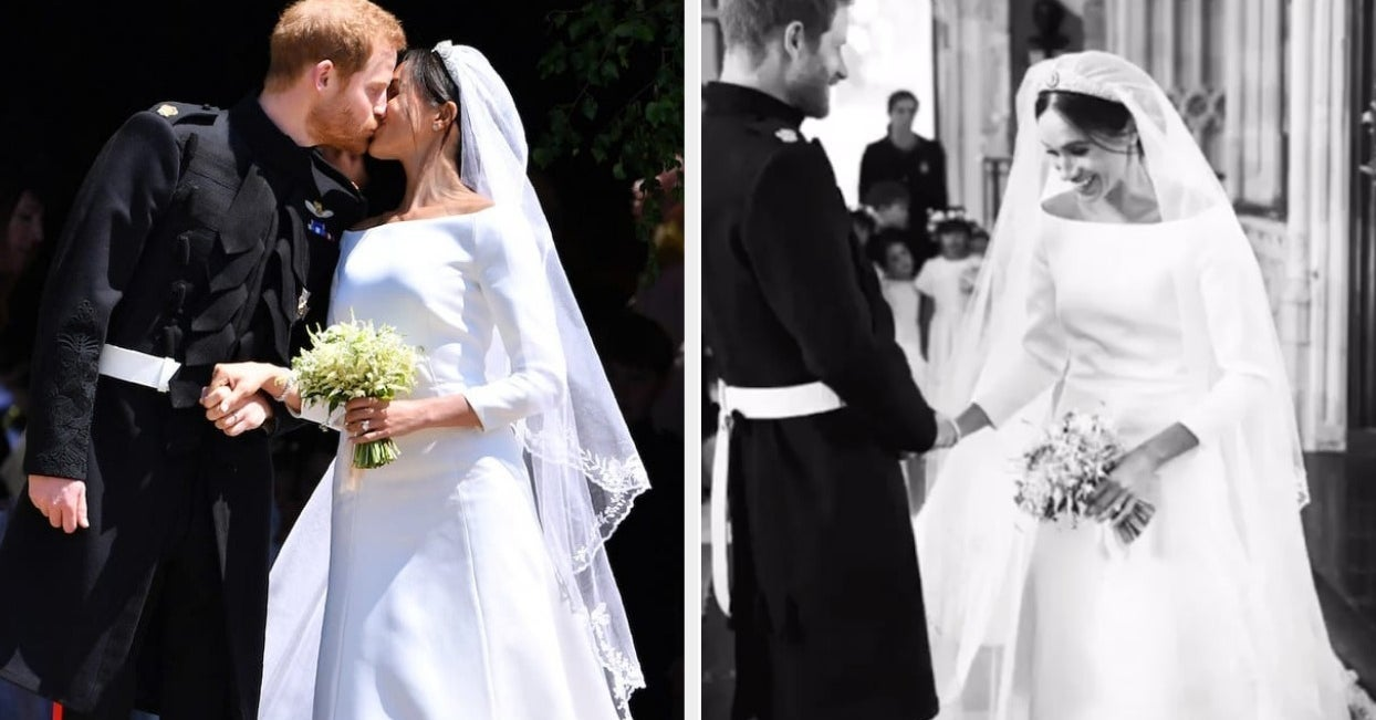 Harry And Meghan Shared Behind-The-Scenes Royal Wedding Photos For Their First Anniversary