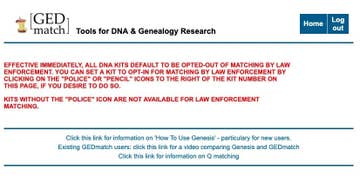 GEDmatch Just Made Big Changes To How Police Can Use Its