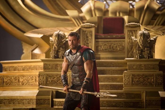 Thor in Thor: Ragnarok.
