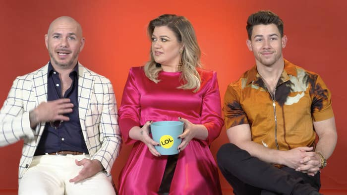 Nick Jonas, Kelly Clarkson, And Pitbull Revealed Which Songs