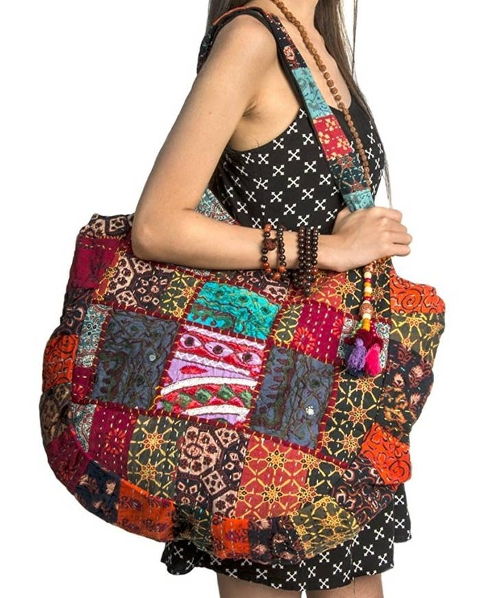 """Promising review: """"I love this tote. It is very well made and beautiful. I do wish the zipper compartment on the inside was bigger. BUT, other than that, I love it."""" —RockwallShopper Price: $29.99"""