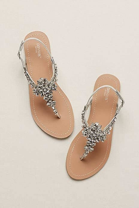 """Promising review: """"I love these!! I looked everywhere and even bought 2 different pairs until I got to these. They're perfect, comfortable, and well made. I got them for my destination wedding, and I couldn't ask for better!"""" —SusanGet them from Amazon for $29.95 (available in sizes 5–11 regular and wide)."""