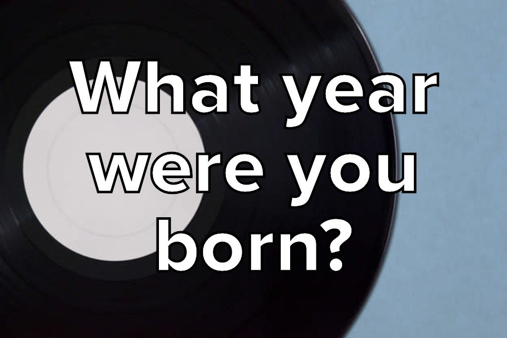 Here's The No. 1 Song From The Year You Were Born