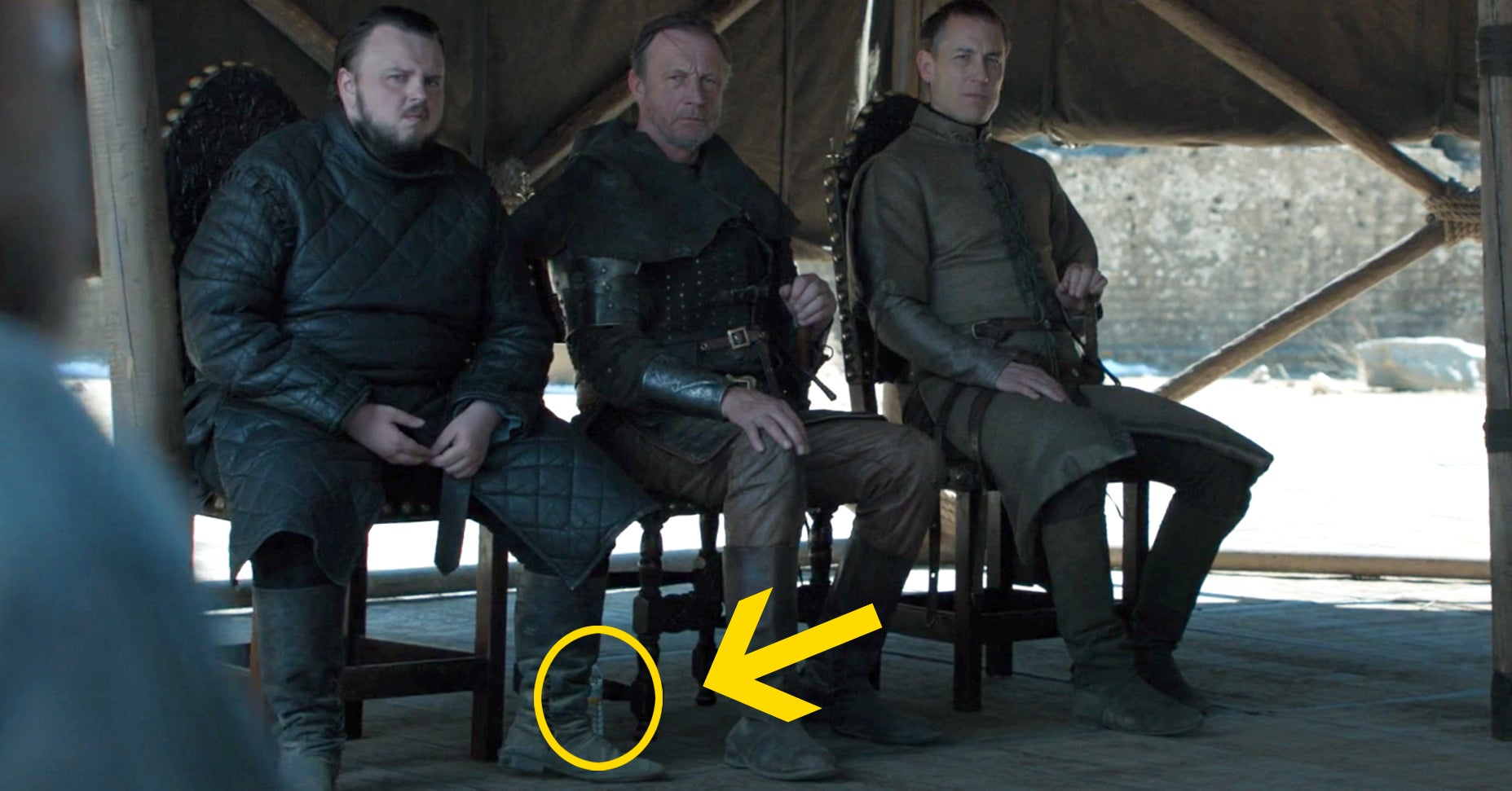 """A Water Bottle Accidentally Showed Up In The """"Game Of Thrones"""" Finale Because This Is Where We Are Now"""