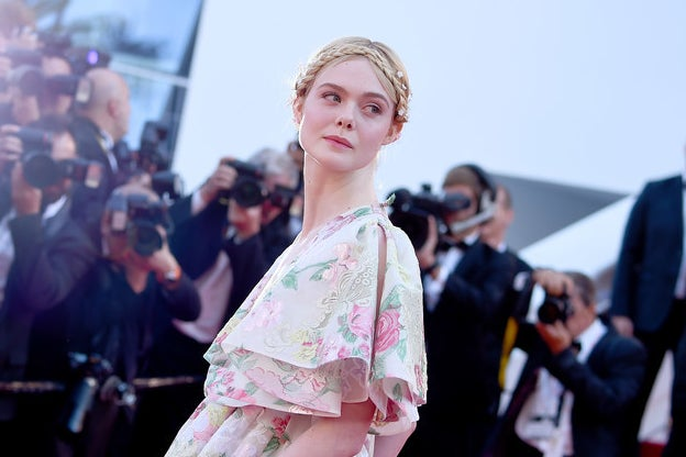 There Was Drama At Cannes Film Festival As Elle Fanning Fainted Because Her Dress Was Too Tight