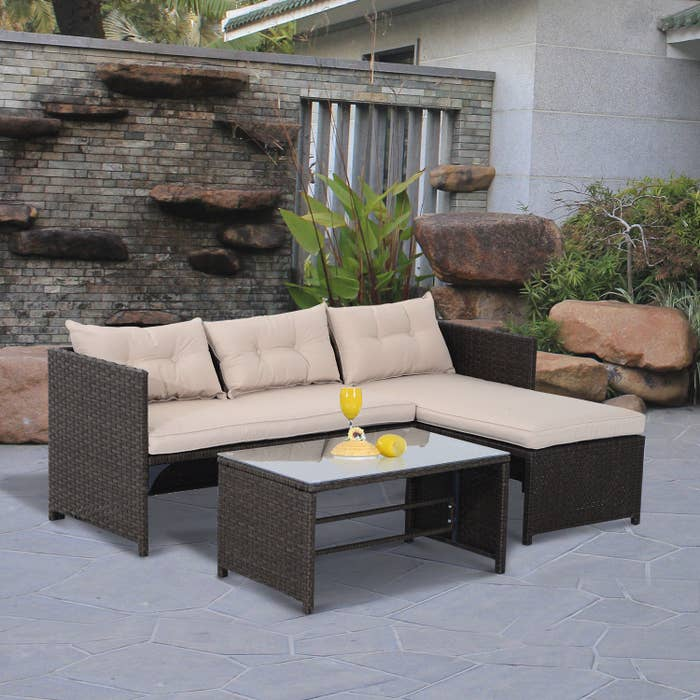 Awesome 28 Pieces Of Outdoor Furniture From Walmart That Only Look Pabps2019 Chair Design Images Pabps2019Com