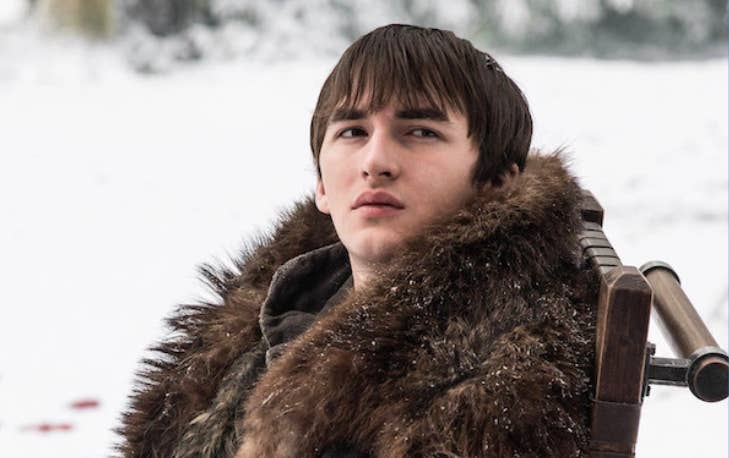 """Speaking to Entertainment Weekly, Isaac said: """"When I got to the [Dragonpit scene] in the last episode, and they're like, 'What about Bran?' I had to get up and pace around the room. I genuinely thought it was a joke script and that [showrunners] David and Dan sent to everyone a script where their own character ends up on the Iron Throne. I was like, 'Yeah, good one guys. Oh shit! It's actually real?!'"""""""