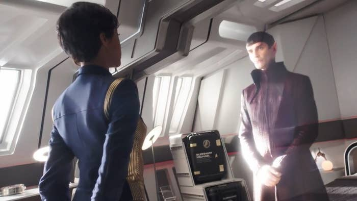 In the Discovery and other ships, they have hologram technology that gets used for communications and other purposes that somehow doesn't make it to any series that happens after STD in the timeline. They reference this a few times as Pike states how he doesn't like it and doesn't want to use it. But, they have established that it exists which means original series and TNG would have it to use, yet they do not use it in those series.