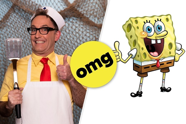 """OMG! This Is What The """"SpongeBob SquarePants'"""" Voice Actors Look Like As Human Versions Of Their Characters"""