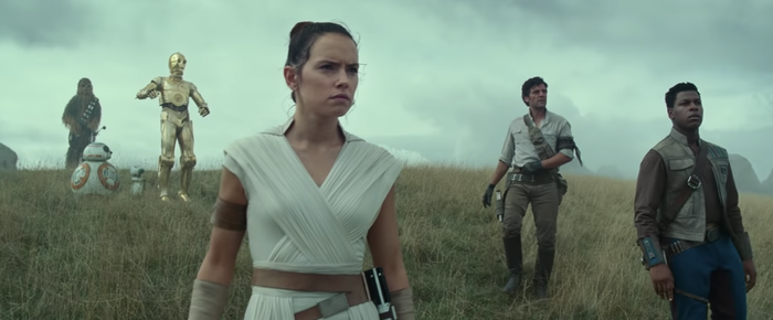 "We Just Got Our First Look At The New ""Star Wars: The Rise Of Skywalker"" Characters And I'm Unwell"