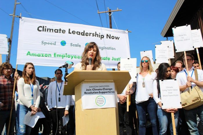 Amazon Investors Reject Call From 7,700 Employees To Respond To Climate Change