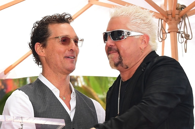 Apparently Guy Fieri And Matthew McConaughey ...