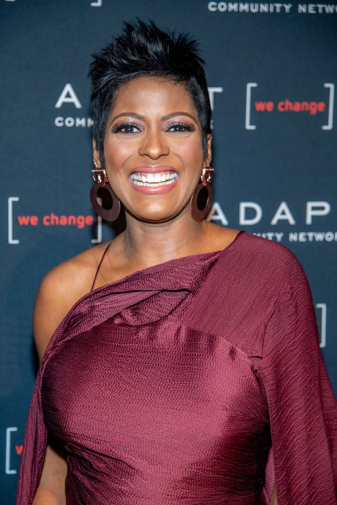"""Tamron Hall Revealed She Kept Her Pregnancy A Secret Because She Was """"Terrified"""""""