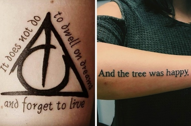 24 Literary Tattoos That Are Perfect For Any Bookworm