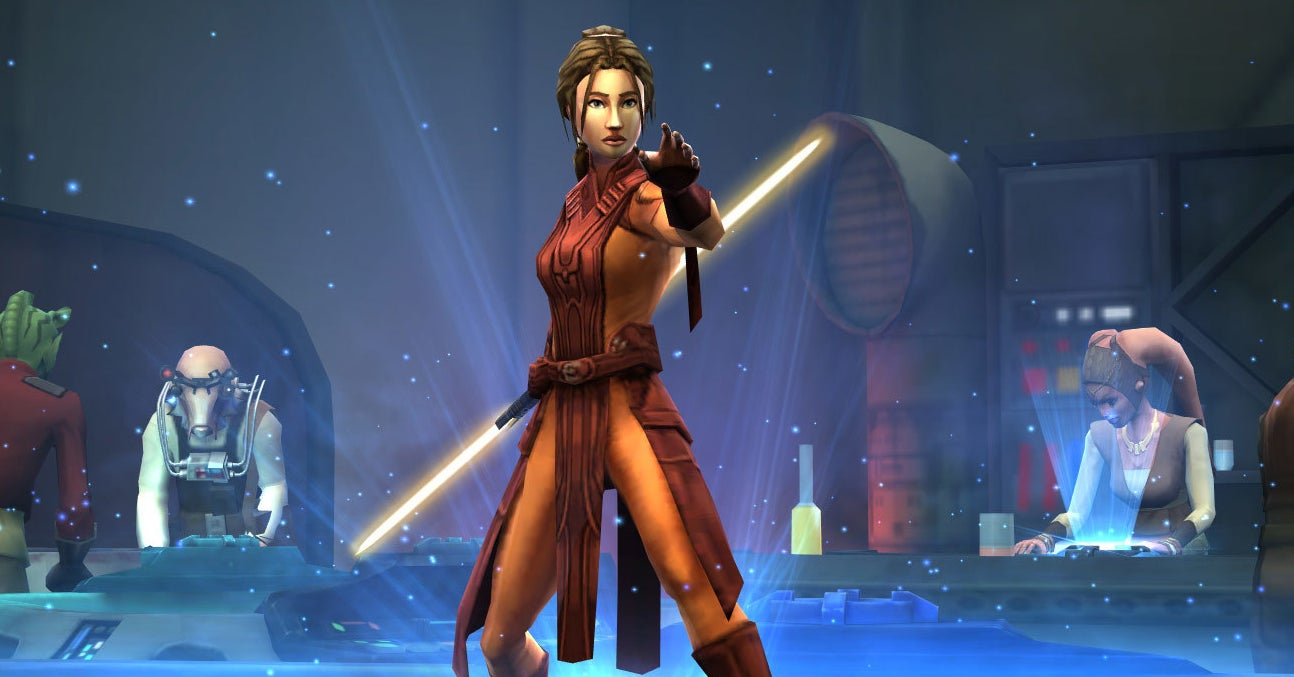 """A New """"Star Wars"""" Movie Based On """"Knights Of The Old Republic"""" Is In The Works"""
