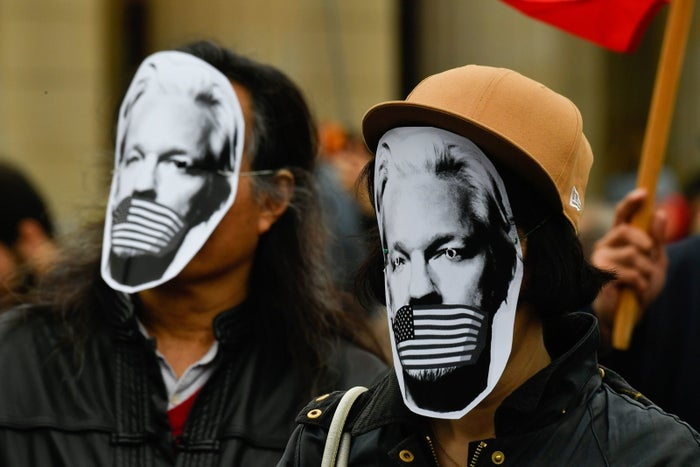 New Charges Against Julian Assange Are A Threat To Journalists, Press Freedom Groups Say