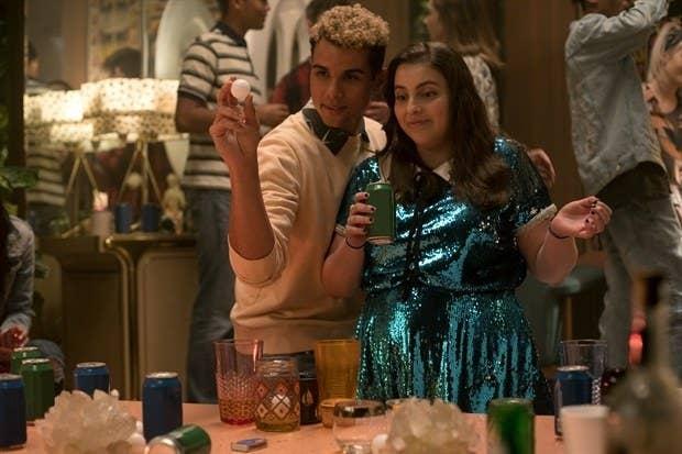 Nick (Mason Gooding) and Molly (Feldstein).