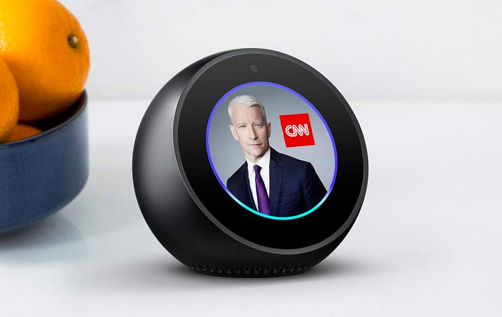 An Alexa Echo Spot